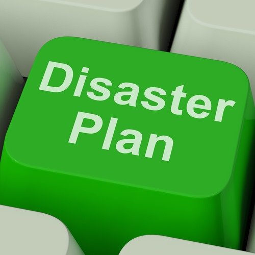 Disaster Plan keyboard key