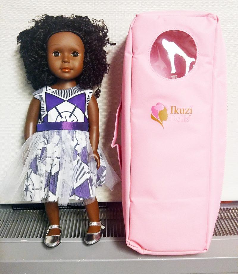 Ikuzi doll with storage case