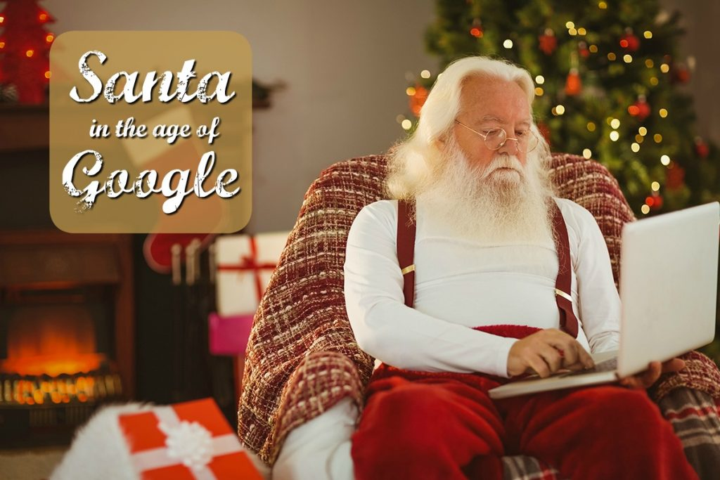 Santa in the age of Google