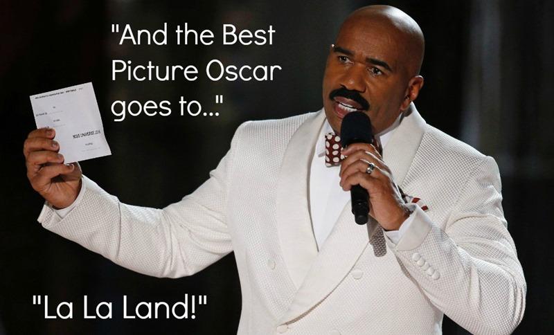 Oscars - Steve Harvey