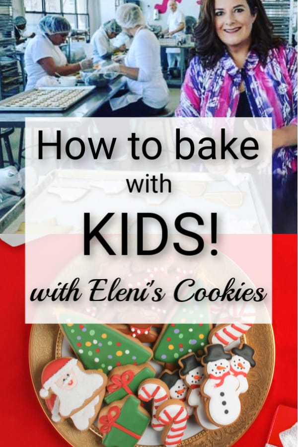 This week we had a fun conversation with Eleni's Cookies founder Eleni Gianopolus, all about baking with kids, starting a business while starting a family, and so much more! #baking #bakingwithkids