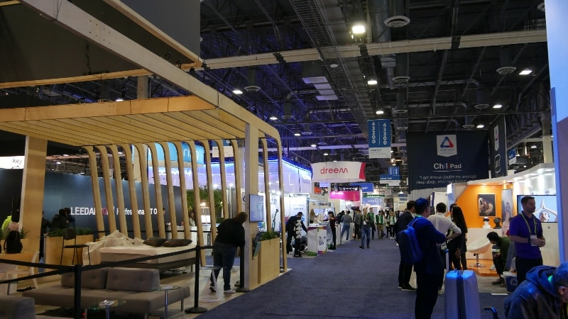 The show floor at The Sands Expo at CES 2019